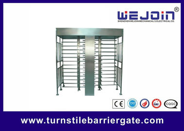 IC , ID , magcard , bar code Full Height Turnstile security systems