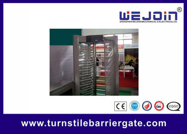 চীন Electronic pedestrian barrier gate / Subway Access Control Turnstile Gate কারখানা