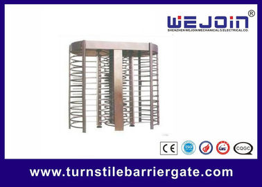 চীন Swipe Card Full height Access Control Turnstile Gate Safety System 50HZ / 60HZ কারখানা