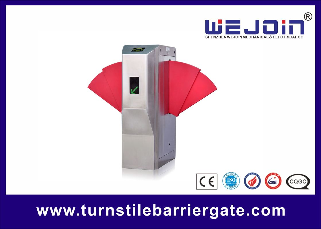 Widen Lane SS Automatic Turnstiles Flap Barrier Electro - Mechanical Design সরবরাহকারী