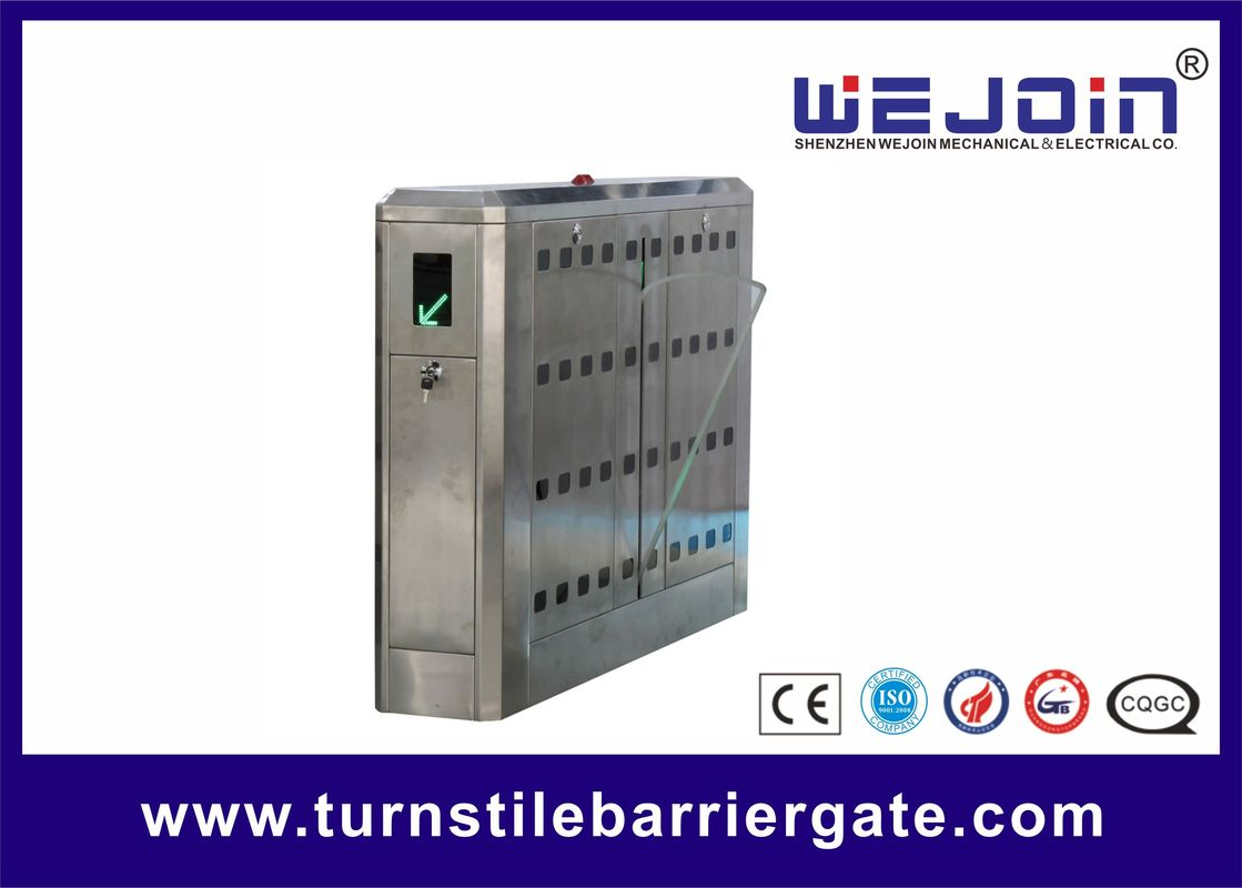 0.5s Aluminum Alloy Core 600mm Flap Barrier Gate Turnstyle Gates for Card Reader সরবরাহকারী