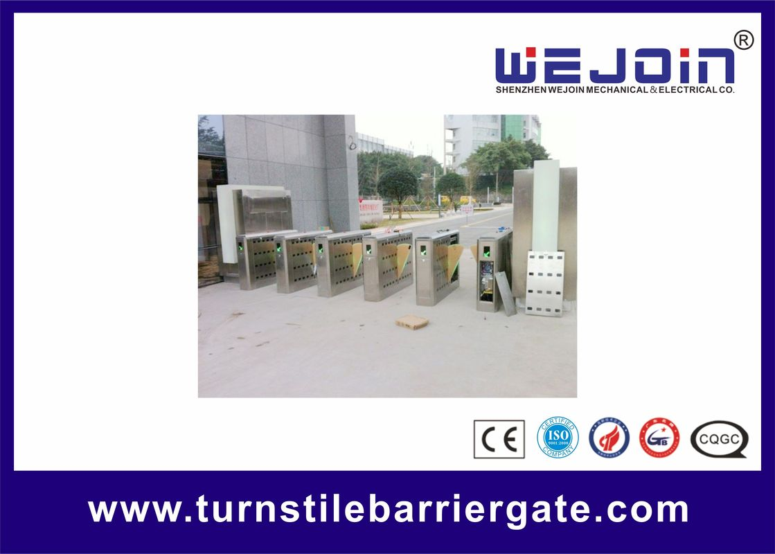SST 304 Intelligent Controlled Access Turnstiles Safety Pedestrian Barrier Gate সরবরাহকারী