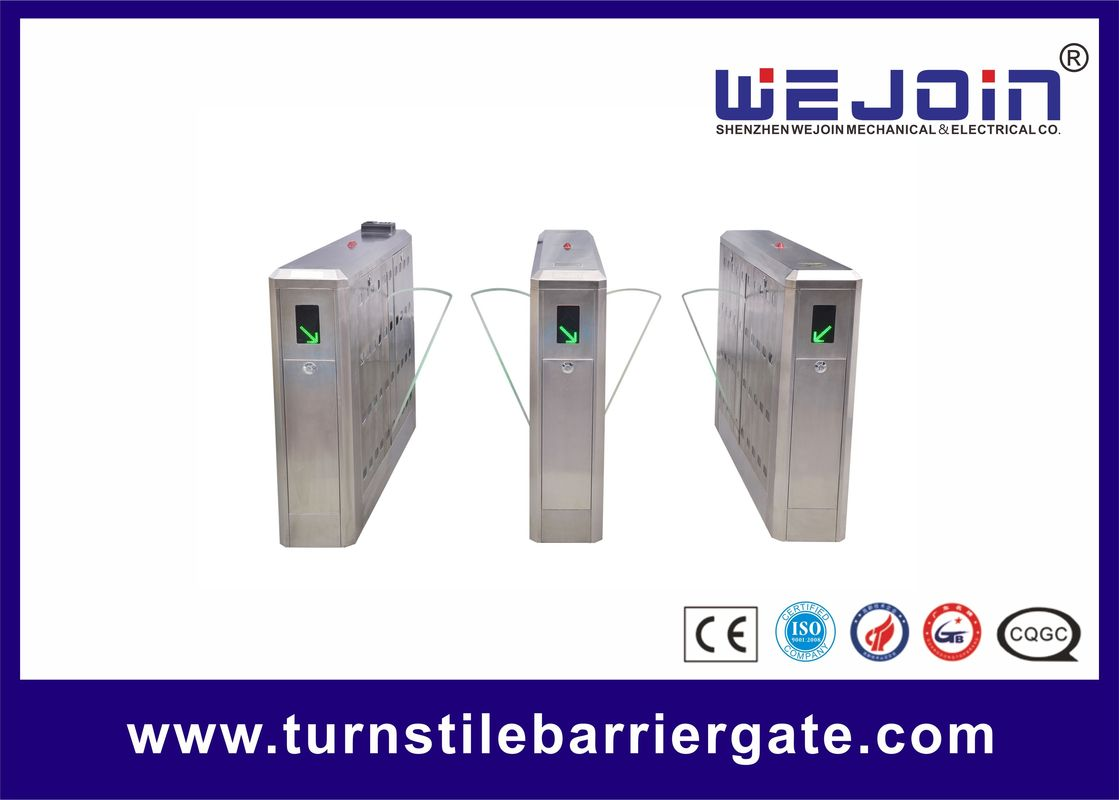 Intelligent Flap Barrier Gate with Compact Electro-mechanical Design and Adjustable Auto-delay Closing Time সরবরাহকারী