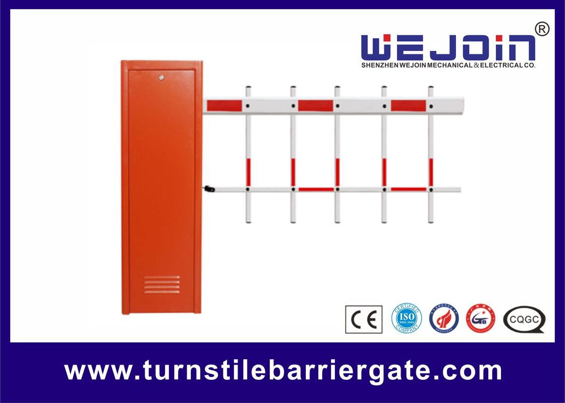 120W Access Control Vehicle Barrier Gates Compatible with Personal Computer