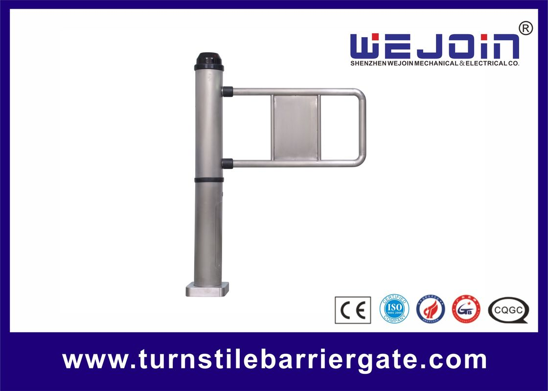 Electric Car Park Barriers , Pedestrian Swing Barrier Gates With Traffic Light