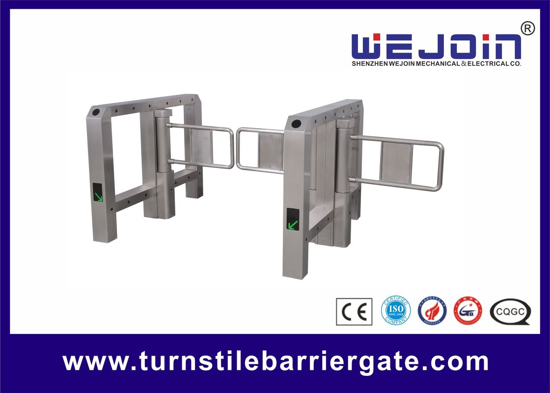 Intelligent Swing Gate Turnstile 24V Brush DC Motor High Reliability Self Lock Mechanism